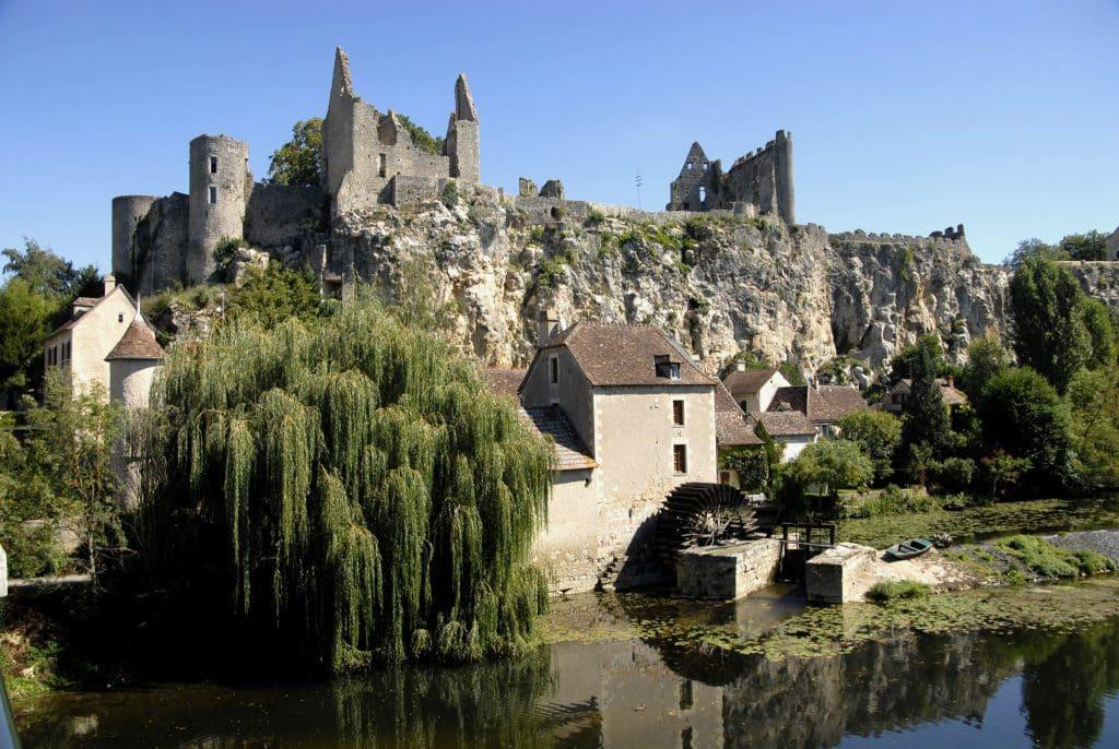 Panorama Burg u. Mühle