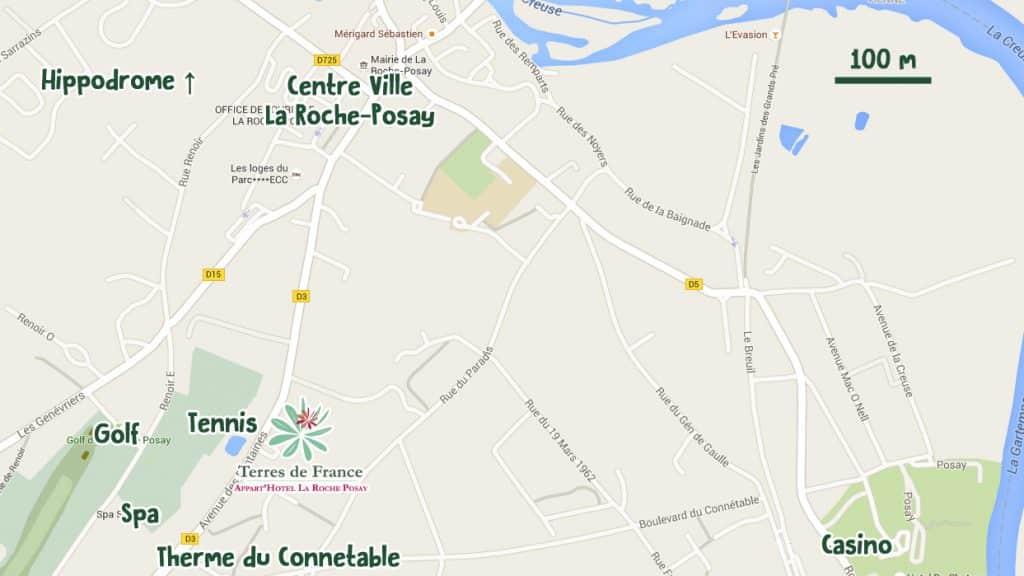La Roche Posay Maps